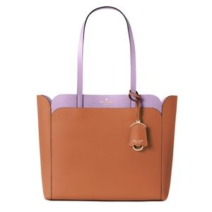 Kate Spade Medium Pocket Tote in Warm Gingerbread